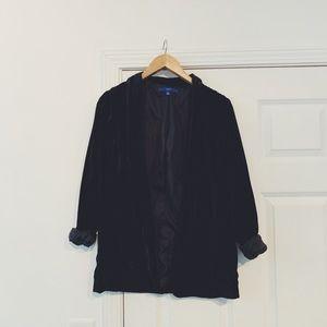 Velvet blazer size small